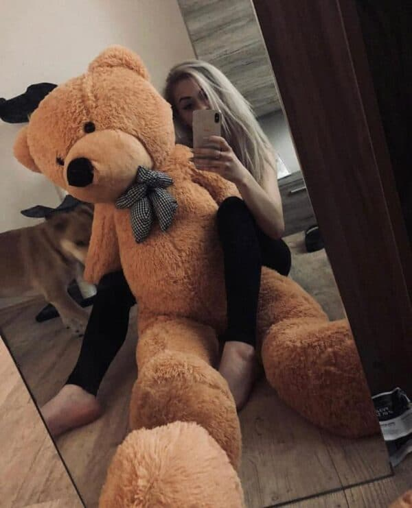 דובי ענק 1.6 חום בהיר