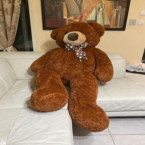 דובי ענק 1.6 מטר חום כהה