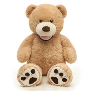 דובי אמריקאי  1.6 מטר פרוותי רגליים מנוקדות