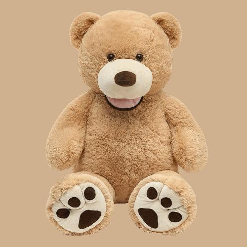 דובי ענק חום בהיר