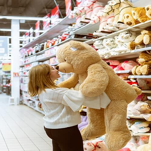 דובי ענק איזה גודל כדאי?